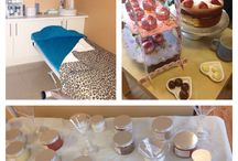 Pamper parties / Pampering parties at sandsmk.co.uk Cocktail range for pedicure , manicure and body treatments  Afternoon tea for pedicure, manicure and body treatments  Chocolate facials and body massage and wraps Fruit smoothie facials and body scrubs