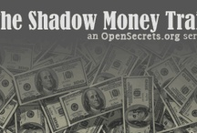 "The Shadow Money Trail / Our acclaimed report series about the world of ""dark money,"" or anonymous political contributions churned through nondisclosing 501(c)(4) political nonprofits.  / by OpenSecrets.org"