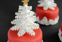 Karácsonyi süti díszítés