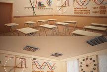 Math Class Decoration