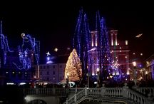 Christmas joy in Slovenia / It's all about Christmas in Slovenia during December. Christmas lights, Christmas trees, presents, mulled wine and delicious food.. and most of all joy and happiness by all people. In this board you can see how Slovenia is decorated during December. <3