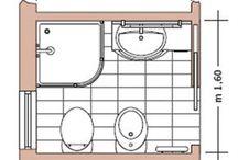 bagno planimetria