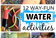 Summer Activity Ideas / Summer Activity ideas for your family. Kid fun, games, summer tips,and more.