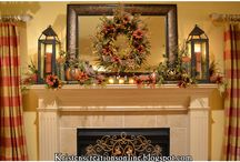 fall decor / by Donna Chovanec