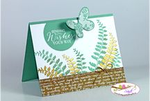 Stampin' Up! - Butterfly Basics / projects created with the Stampin Up Butterfly Basics coordinating stamps and framelits