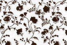 Swirly Vine Florals