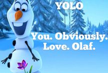 Olaf / #frozen #olaf #snowman