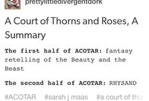 ACOTAR ✨❤️ ACOMAF / Everything connected to the awesome book series by Sarah J. Maas