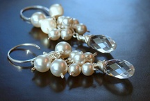 Wedding Bliss / Custom made wedding jewelry at www.christamarieboutique.etsy.com / by Hannah Forster