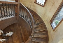 Staircase / Designed by CP Designs, Grand Junction, CO  970-241-8282.