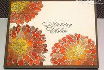 Cards Regarding Dahlias