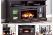 TV Stand With Fireplace#TV Stands!