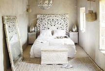 Chambre / Chambre adulte, tête de lit, décoration