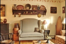 Homemakers / Making a house a home with primitive and country decorating.