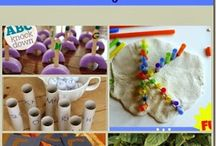 Childrens play, crafting and learning