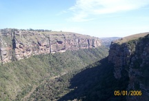 MOUNTAINS AND GORGES of south africa n other african states / by Desmond C
