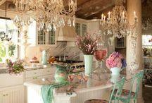 Lovely kitchen ⊰✿¸.•*ღ¸╭•⊰✿⊰