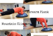Bosu workout / by Danielle Schipper