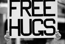 Free Hugs Campaign <3 / Love this...good is still in the world... / by Miss Atomic Bomb