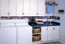 Laundry/Bath/Pantry / Areas that are designed for functionality and organization, from food storage and baskets to folding areas with counterspace and cabinets