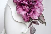 Bridal headpice, flowers