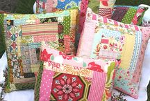 Patchwork Pillows / by Tricia Hicks