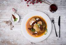 Karácsonyi Ajánlat / Lepd meg a szeretteidet egy különleges karácsonyi vacsorával. Az ételeket egyben és külön külön is meg tudod rendelni. Szállítás: december 22 és 23.