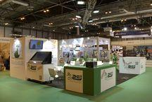 Matelec / Stands creados por COOC Alternativa de Diseño para el Salón Internacional de soluciones para la Industria Eléctrica y Electrónica.