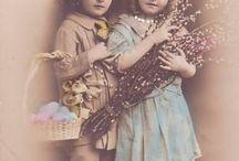 Vintage bilder jenter