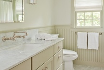 Bathroom ideas for our master bedroom  / by Allison Troxel