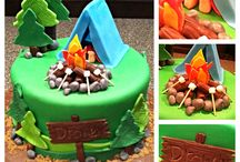 Camping cakes