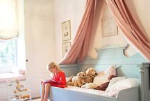 Girls Room make over! / Love the canopy!  / by Monica Hobbs