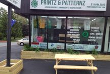 Printz & Patternz - P & P / Apparel Stationery Signs & Banners Promotional Items Happy Customers Retail and Production Store