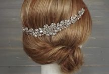 Bridal Hair Vines / Bridal hair vine designs.