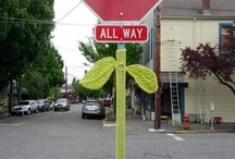 Yarnbomb! / by Elayna Warren