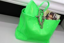 Neon Touch / FLUO BAGS: 3 SIZES 3 COLOURS
