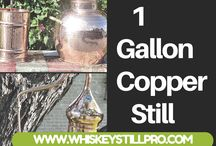 1 gallon copper still / Copper Stills are all time favorite for the people who love to enjoy a different kind of flavors of the spirit drinks. Most of the time, people want to have their own apparatus of still to analyze the highest level of taste for wines and beverages. Copper Stills are highly recommended for the purchase of stills as these are having unique quality features like Copper metal is a good conductor of heat and it does not allow the harmful chemicals to interfere with the real flavors of spirits.