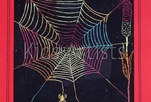 elementary art - bugs and spiders