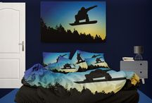 Snowboard Bedding