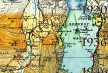 Mapas / Eles fazem parte do meu mundo. Seja viajando, ensinando Geografia ou simplesmente apreciando, mapas estão sempre comigo.
