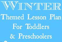 Dec/winter lesson plans