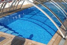 Pool Enclosures / Swimming pool enclosures, hot tub and patio enclosures are made with care. We use top quality materials and our production are approved by ISO 9001, ISO 14001 and AFNOR certification.