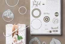 SU 2016 Merriest Wishes Bundle / Project ideas using the Merriest Wishes stamp set and Merry Tags framelits dies | Available in a bundle, save 10% https://goo.gl/ypYgY0