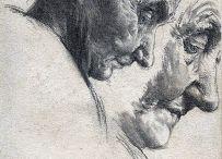 Портрет, рисунок