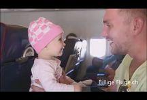 Flugreisen mit Kindern Familienurlaub