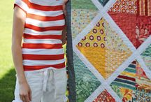 HANDMADE layer cake quilts