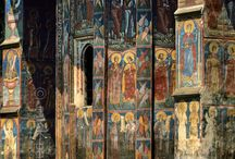 Byzantine Art / Byzantine art is the artistic products of the Eastern Roman, or Byzantine, Empire, as well as the nations and states that inherited culturally from the empire. Though the empire itself emerged from Rome's decline and lasted until the Fall of Constantinople in 1453, many Eastern Orthodox states in Eastern Europe, as well as to some degree the Muslim states of the eastern Mediterranean, preserved many aspects of the empire's culture and art for centuries afterward.