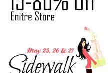 Sidewalk Sale 2017