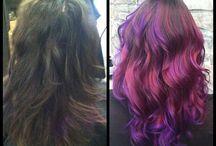 Hair by Carly Patch / #spssalon #colortechniques #cuttingtechniques #fashion #portfolio