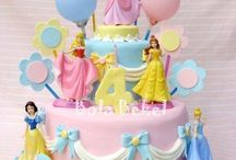Ella's Princess Birthday Cake